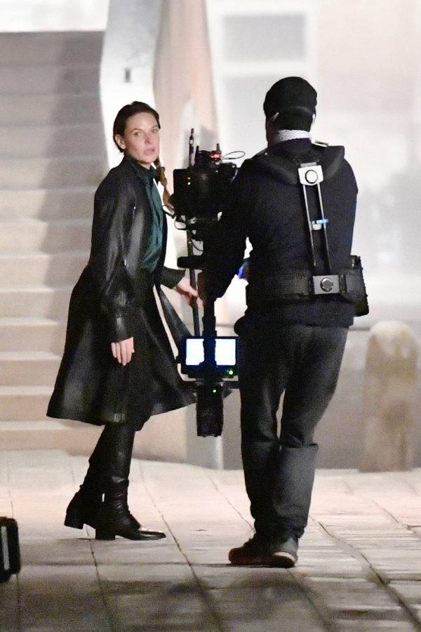 Rebecca Ferguson On the set of Mission Impossible 7 in Campo San Giacomo dell Orio Venice 14