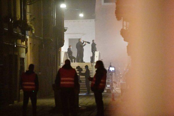 Rebecca Ferguson On the set of Mission Impossible 7 in Campo San Giacomo dell Orio Venice 17