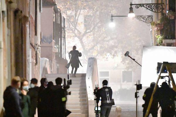 Rebecca Ferguson On the set of Mission Impossible 7 in Campo San Giacomo dell Orio Venice 18