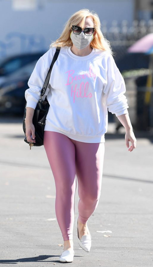 Rebel Wilson Stepping out in Los Angeles 06