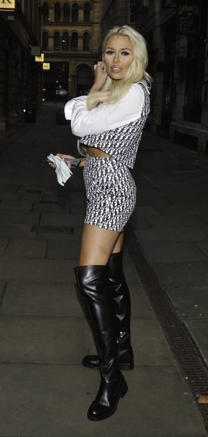 Shannen Reilly McGrath Night out in Manchester 02