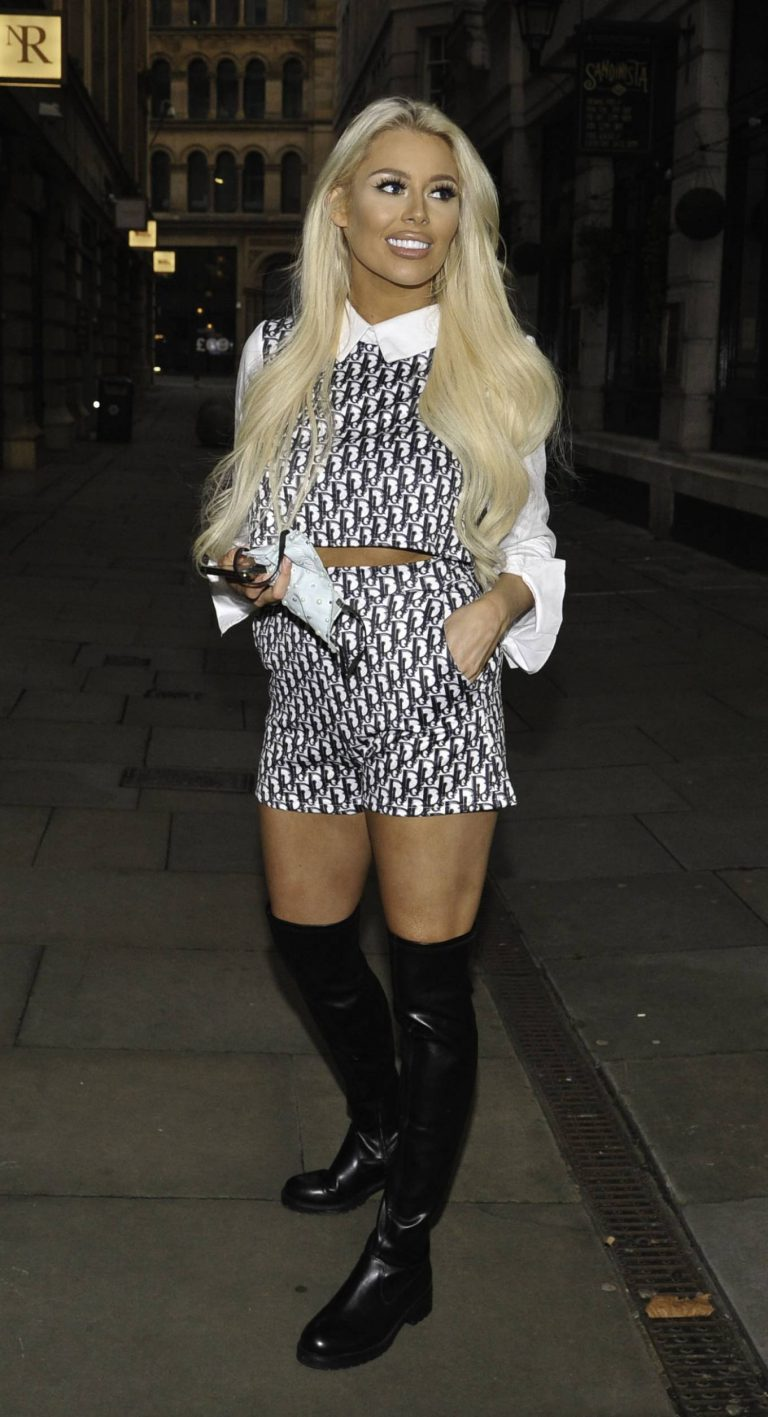 Shannen Reilly McGrath Night out in Manchester 06