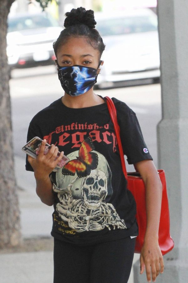 Skai Jackson Heads at the DWTS studio in Los Angeles 06