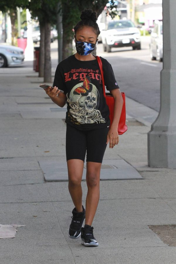 Skai Jackson Heads at the DWTS studio in Los Angeles 07