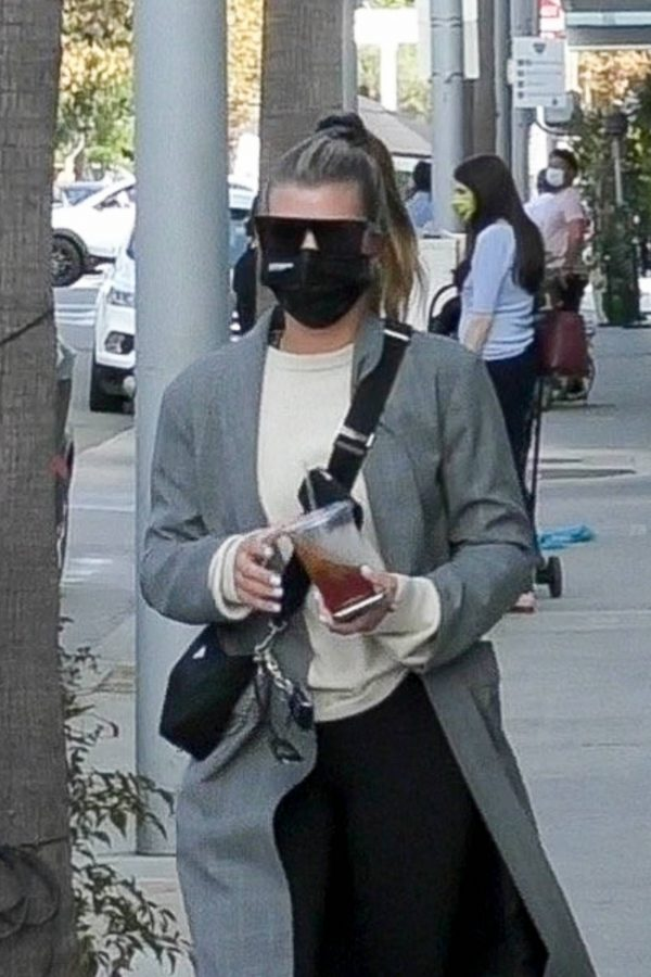 Sofia Richie Out for lunch with new boyfriend in Beverly Hills 19