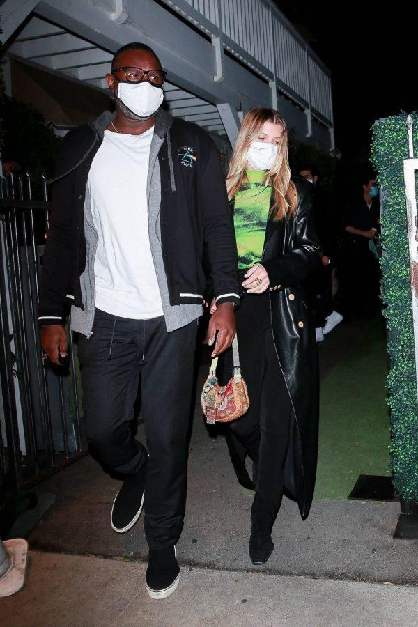 Sofia Richie Pictured while leaves dinner with her new boyfriend at Giorgio Baldi in Santa Monica 01