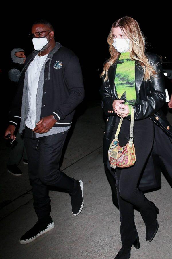 Sofia Richie Pictured while leaves dinner with her new boyfriend at Giorgio Baldi in Santa Monica 03