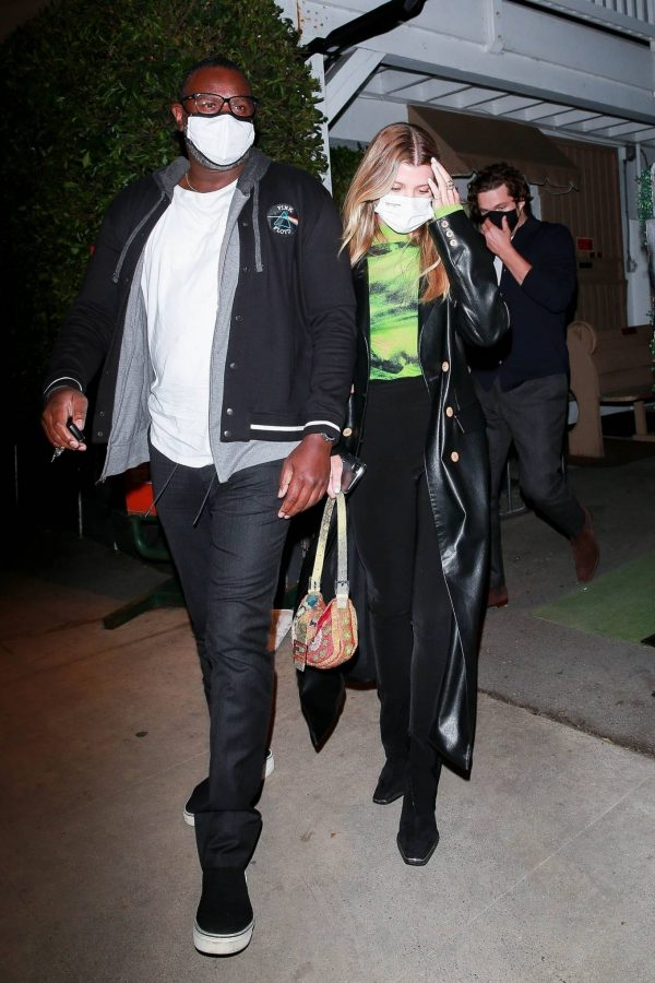 Sofia Richie Pictured while leaves dinner with her new boyfriend at Giorgio Baldi in Santa Monica 04