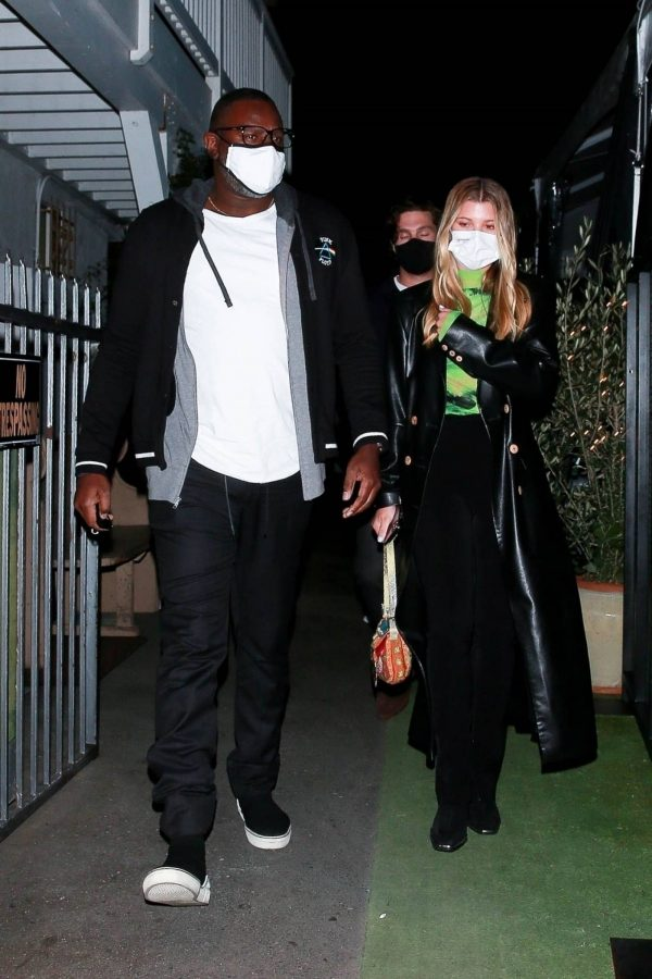 Sofia Richie Pictured while leaves dinner with her new boyfriend at Giorgio Baldi in Santa Monica 05