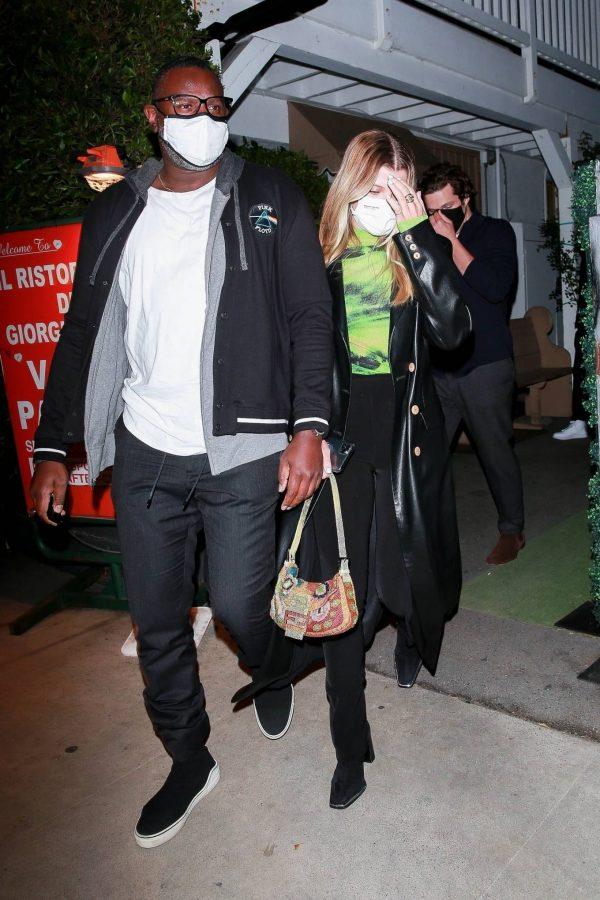 Sofia Richie Pictured while leaves dinner with her new boyfriend at Giorgio Baldi in Santa Monica 09