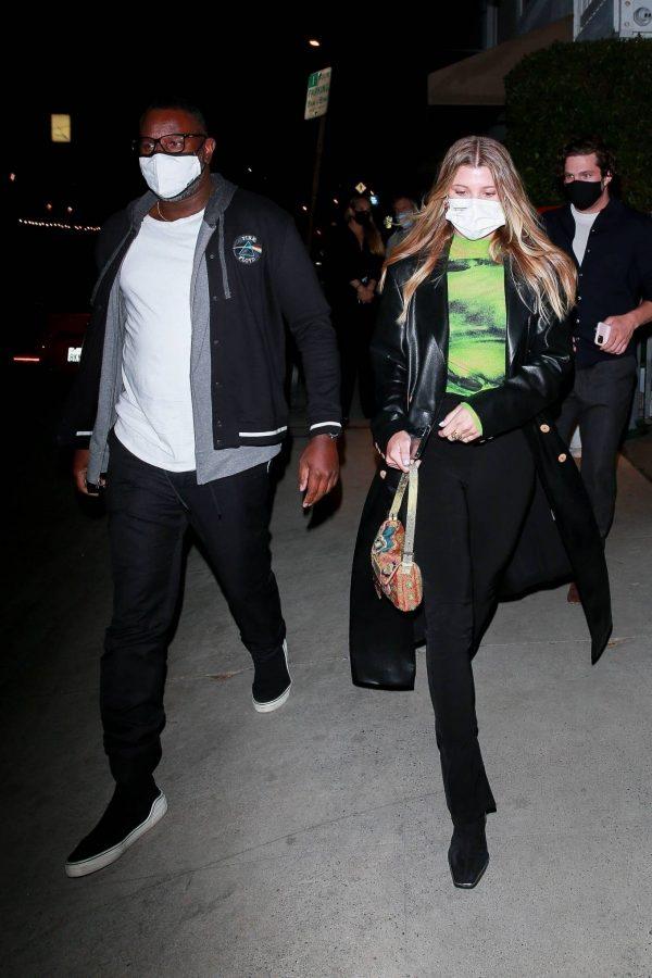 Sofia Richie Pictured while leaves dinner with her new boyfriend at Giorgio Baldi in Santa Monica 10