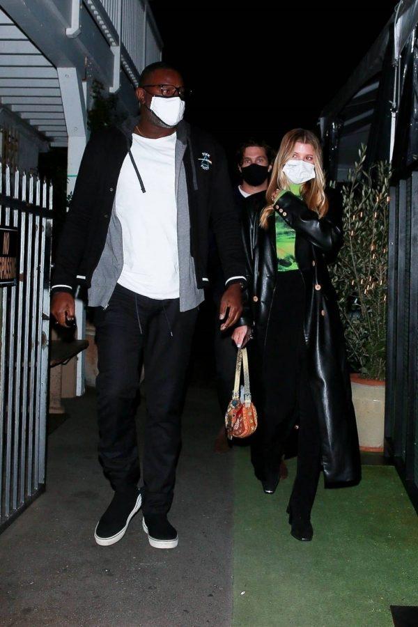 Sofia Richie Pictured while leaves dinner with her new boyfriend at Giorgio Baldi in Santa Monica 13