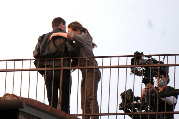 Tom Cruise and Rebecca Ferguson Mission Impossible 7 set in Venice 01