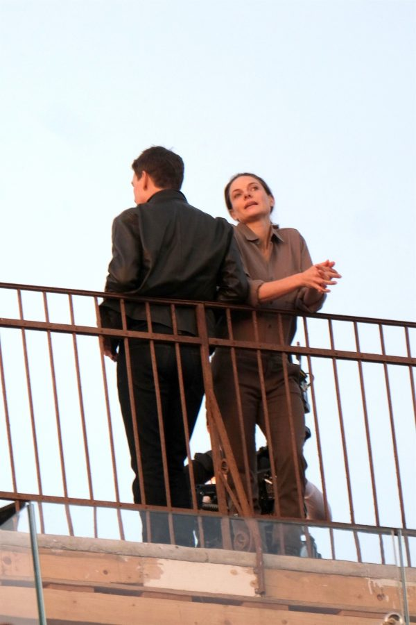 Tom Cruise and Rebecca Ferguson Mission Impossible 7 set in Venice 05