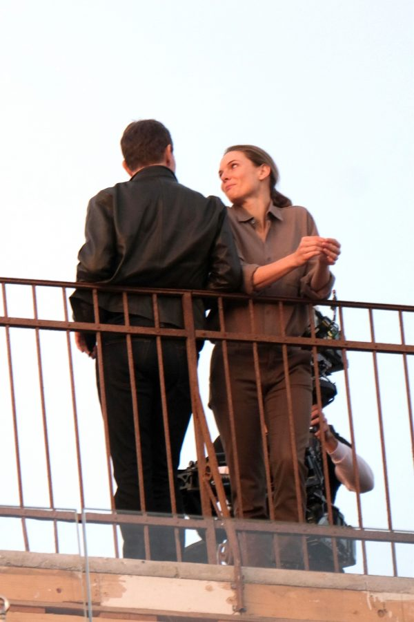 Tom Cruise and Rebecca Ferguson Mission Impossible 7 set in Venice 07