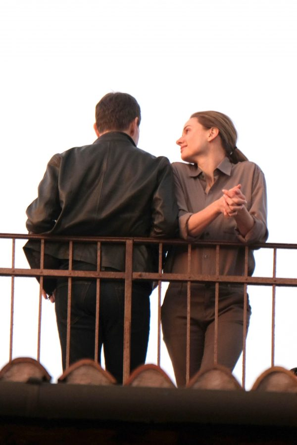 Tom Cruise and Rebecca Ferguson Mission Impossible 7 set in Venice 08