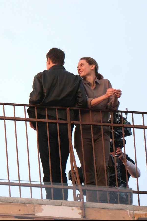 Tom Cruise and Rebecca Ferguson Mission Impossible 7 set in Venice 09