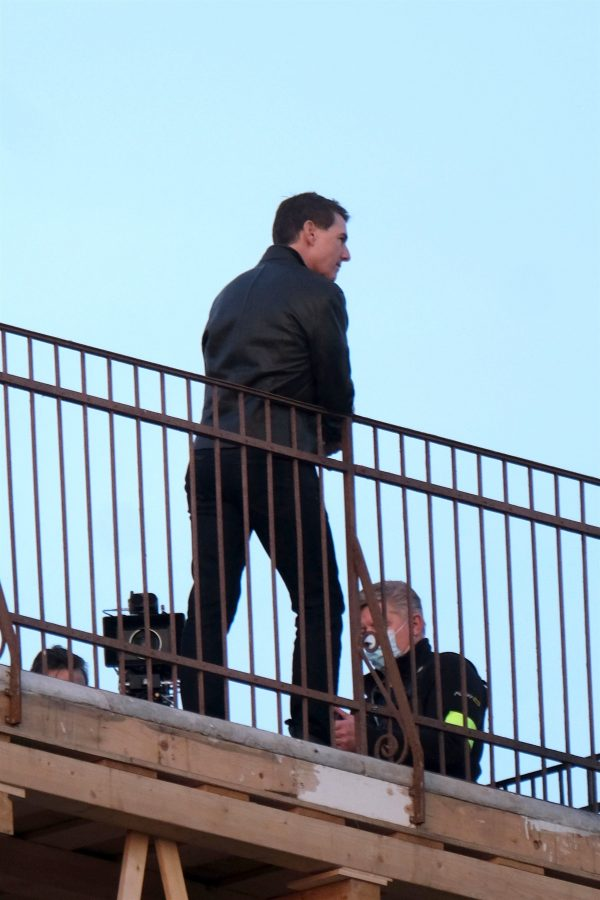 Tom Cruise and Rebecca Ferguson Mission Impossible 7 set in Venice 10