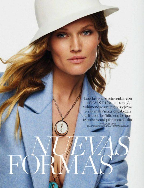 Toni Garrn ELLE Magazine Spain September 2020 01
