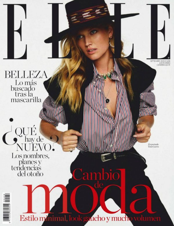 Toni Garrn ELLE Magazine Spain September 2020 14