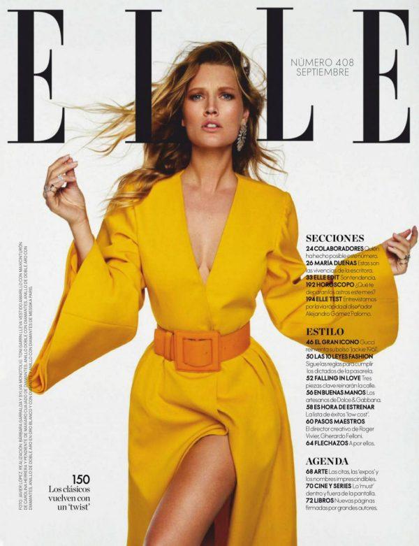 Toni Garrn ELLE Magazine Spain September 2020 20