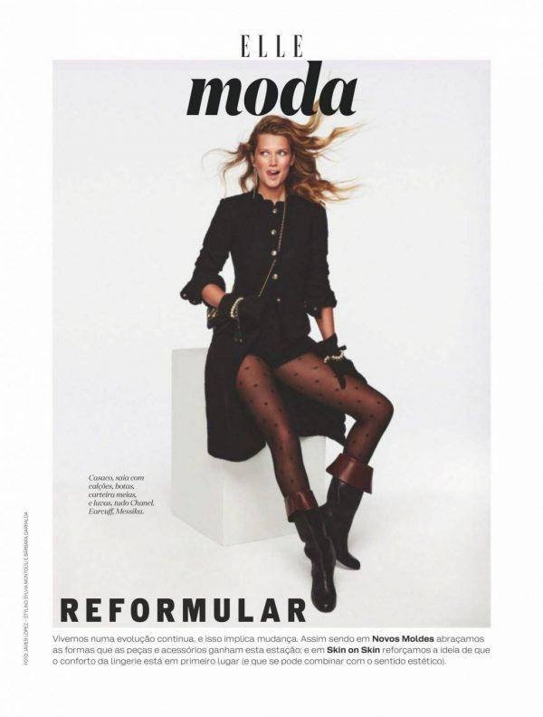 Toni Garrn ELLE Magazine Spain September 2020 23