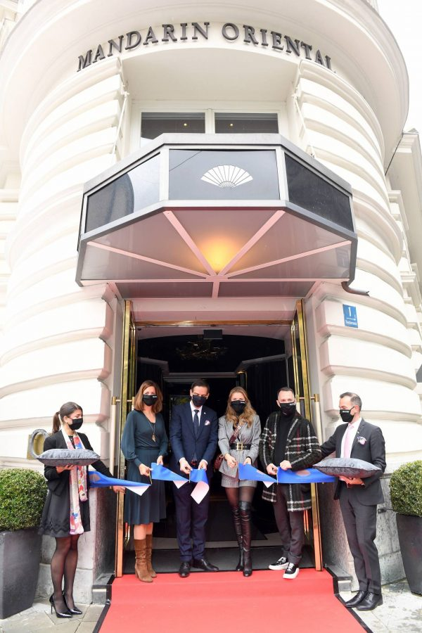 Victoria Swarovski Hotel Mandarin Oriental Munchen Opening in Munich 01