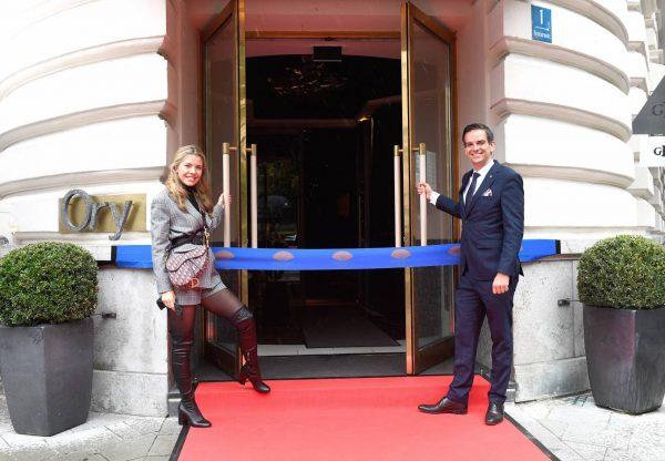 Victoria Swarovski Hotel Mandarin Oriental Munchen Opening in Munich 08