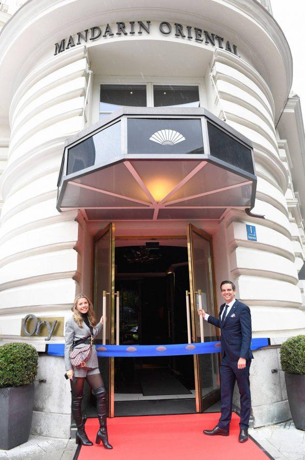 Victoria Swarovski Hotel Mandarin Oriental Munchen Opening in Munich 10