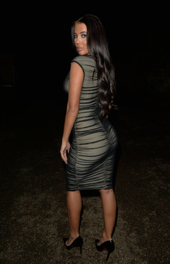 Yazmin Oukhellou Night out at Chiltern Firehouse in London 03