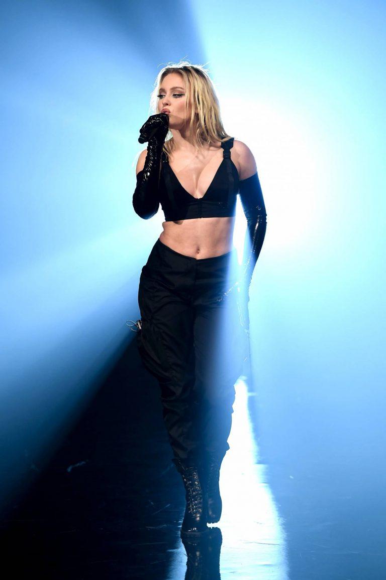 Zara Larsson 2020 MTV EMAs in London 10