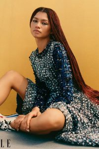 Zendaya Coleman Elle Magazine December 2020 January 2021 issue 01
