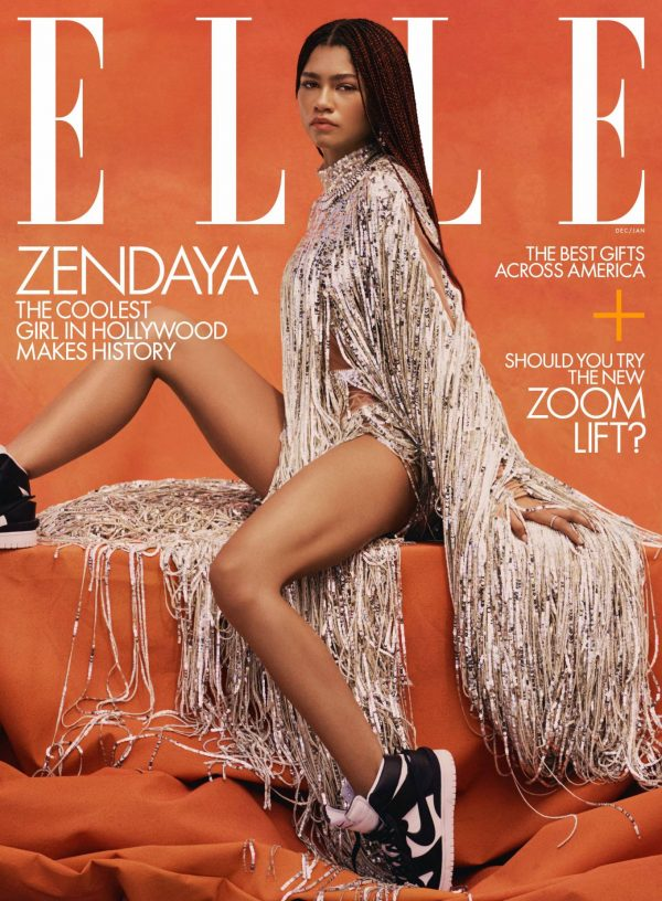Zendaya Coleman Elle Magazine December 2020 January 2021 issue 05