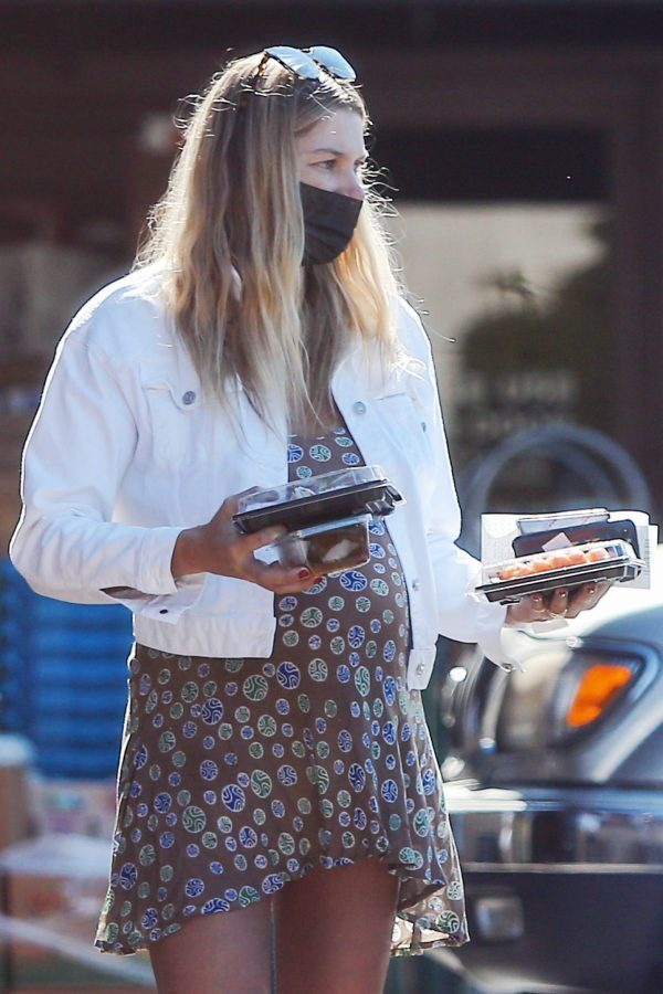 jessica hart shows baby bump in los angeles 13