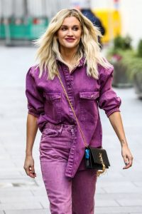 Ashley Roberts Seen after the Heart Radio Breakfast Show in London 03