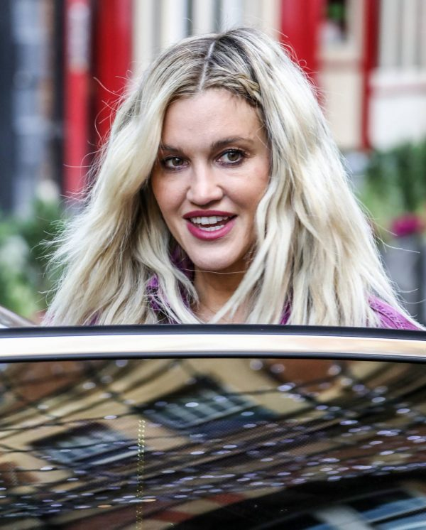 Ashley Roberts Seen after the Heart Radio Breakfast Show in London 11