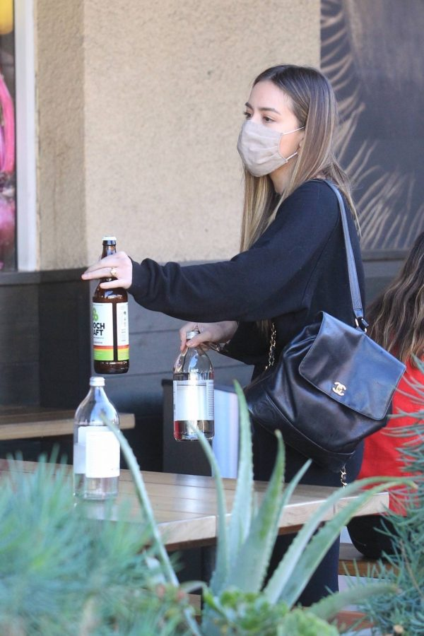 Chloe Bennet and Gregg Sulkin Out for a lunch at Erewhon Market in LA 05