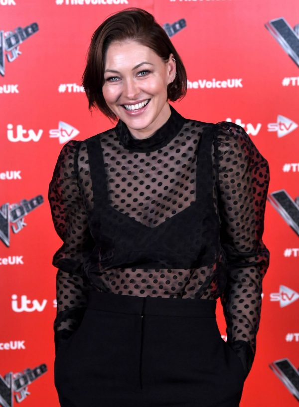 Emma Willis Pictured at The Voice UK Photocall Series 4 in Manchester 01