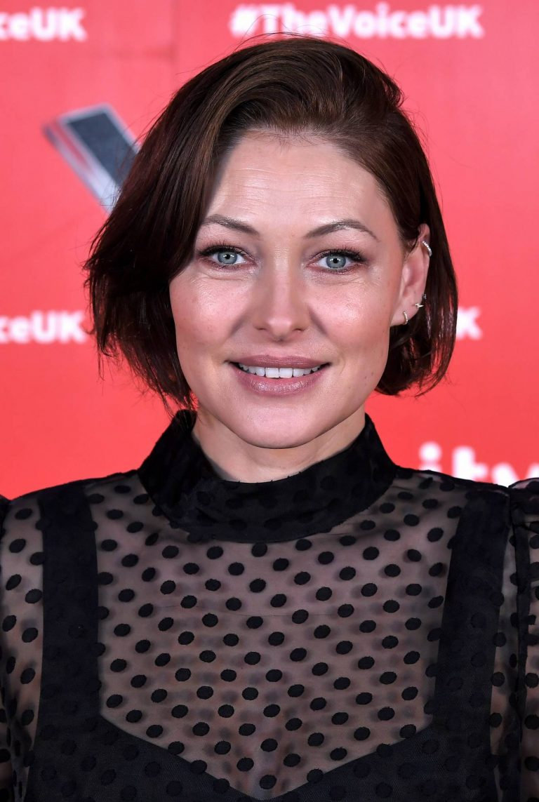 Emma Willis Pictured at The Voice UK Photocall Series 4 in Manchester 02
