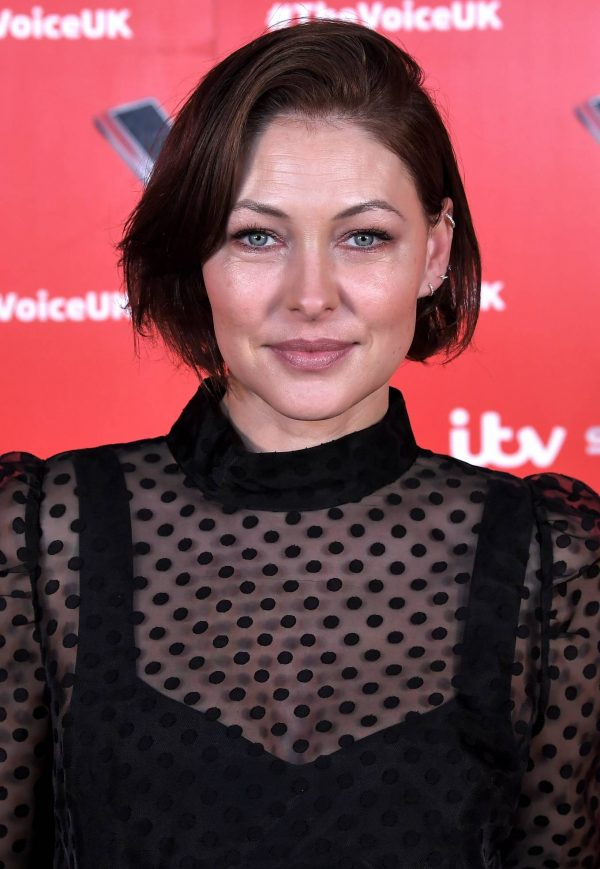 Emma Willis Pictured at The Voice UK Photocall Series 4 in Manchester 04