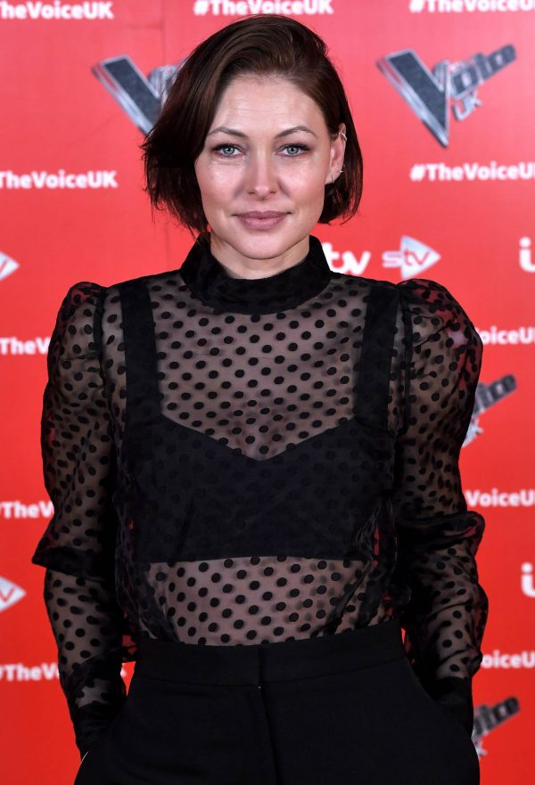 Emma Willis Pictured at The Voice UK Photocall Series 4 in Manchester 08