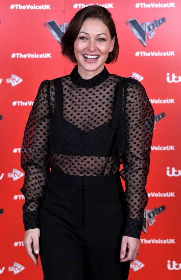 Emma Willis Pictured at The Voice UK Photocall Series 4 in Manchester 09