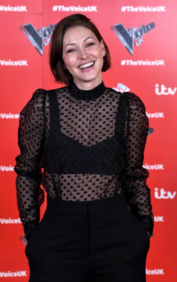 Emma Willis Pictured at The Voice UK Photocall Series 4 in Manchester 10