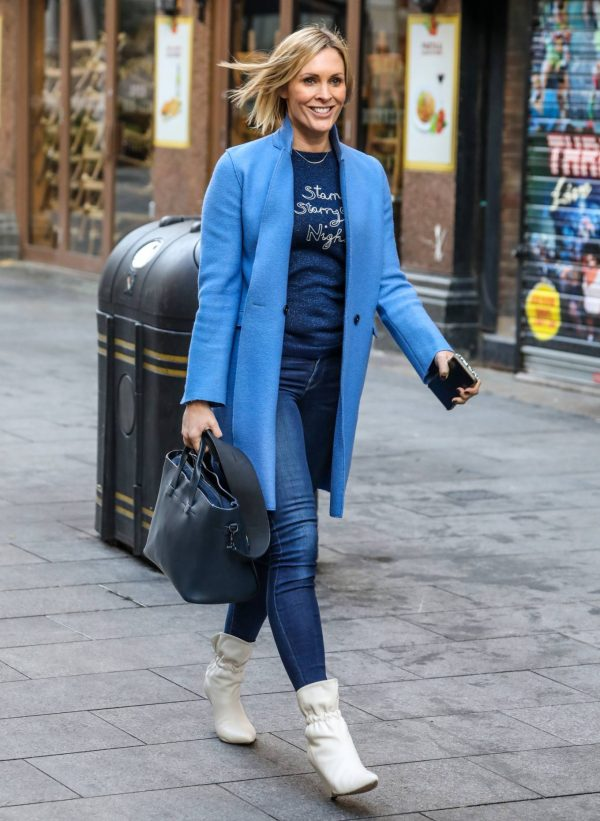 Jenni Falconer Pictured after her Smooth Radio show in London 11