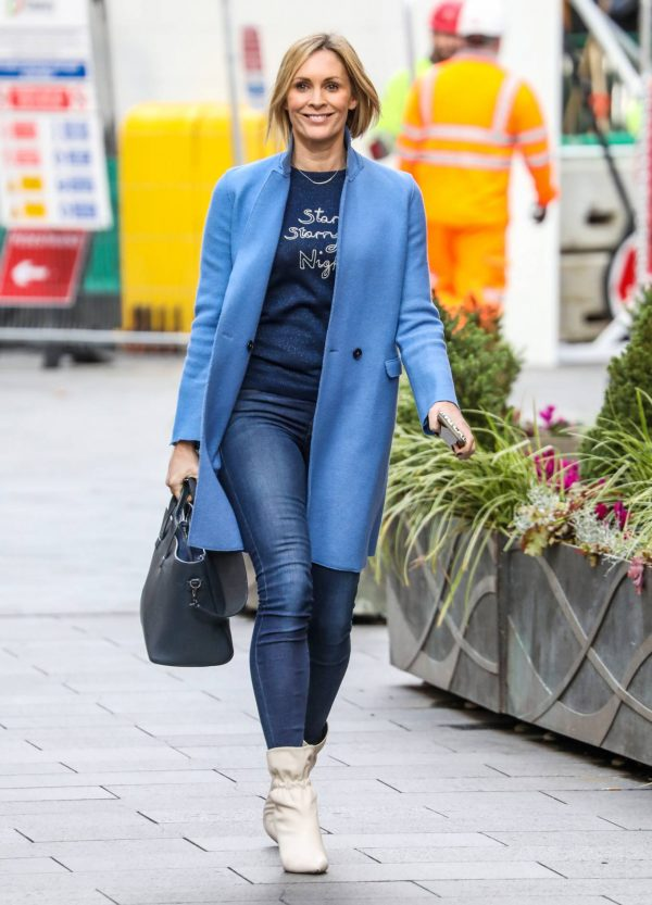 Jenni Falconer Pictured after her Smooth Radio show in London 12