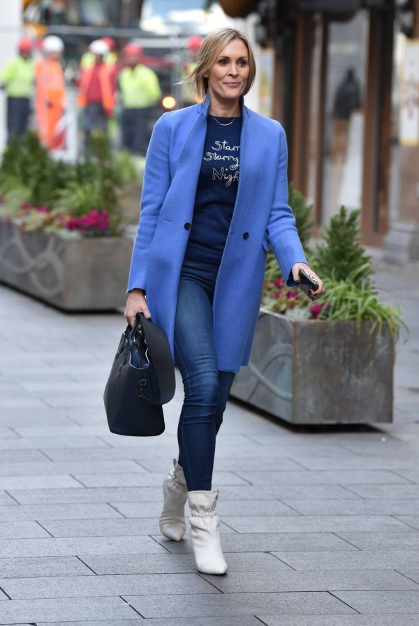 Jenni Falconer Pictured after her Smooth Radio show in London 14
