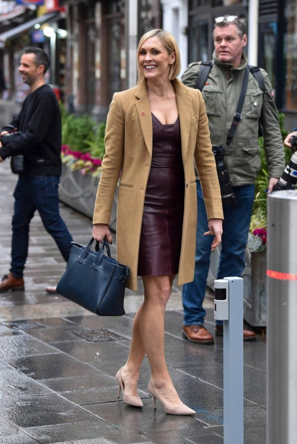 Jenni Falconer Seen after Smooth Radio show in London 04