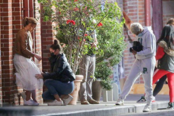 Jennifer Lopez Photoshoot Candids in Los Angeles 11
