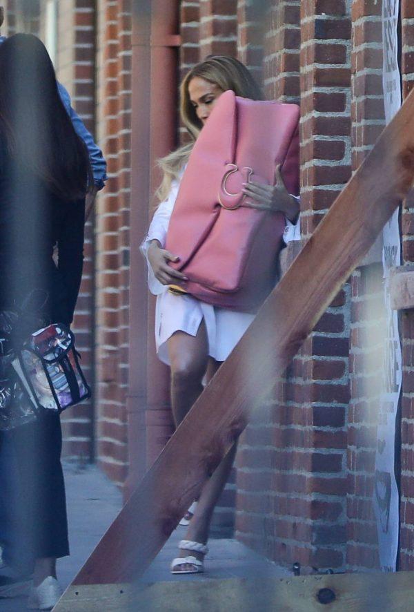 Jennifer Lopez Photoshoot Candids in Los Angeles 17