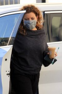 Justina Machado Practice at the DWTS studio in Los Angeles 05